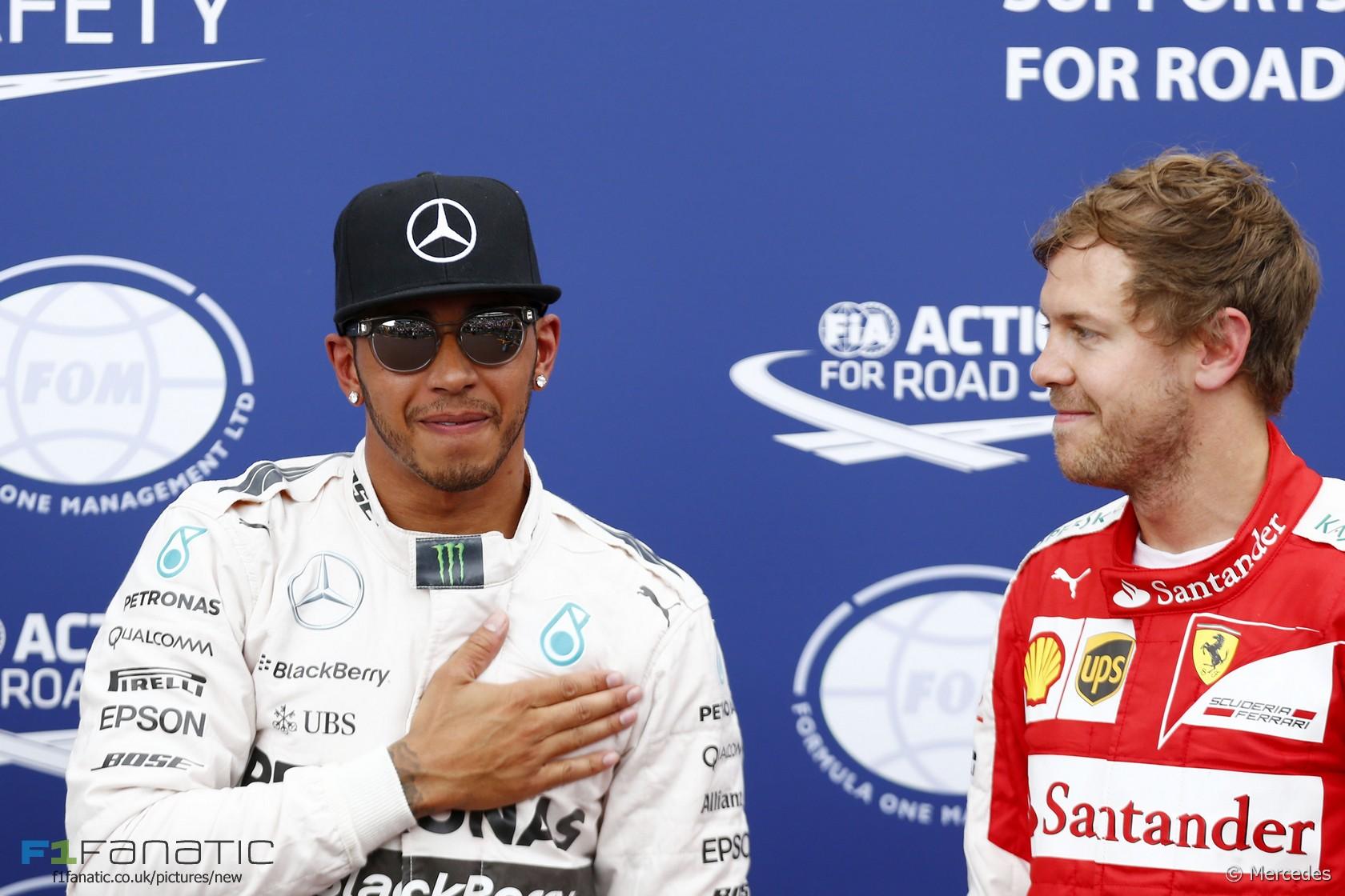 Lewis Hamilton, Sebastian Vettel, Monte-Carlo, 2015