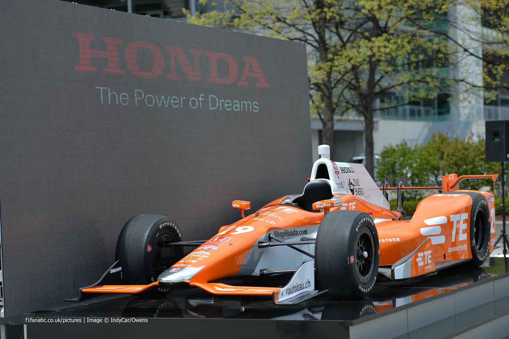 Honda Indycar Speedway Aero