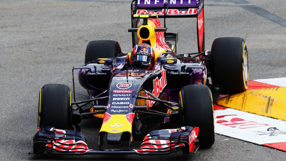 Kvyat 'massively relieved' after last-lap pass for fourth
