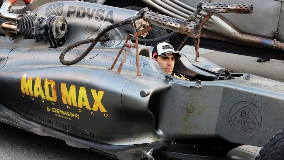 Caption Competition 82: Pastor Maldonado