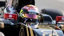 Pastor Maldonado, Lotus, Circuit de Catalunya, testing, 2015