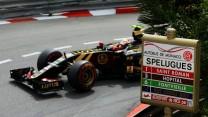 Pastor Maldonado, Lotus, Monte-Carlo, 2015