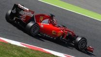 Raffaele Marciello, Ferrari, Circuit de Catalunya, testing, 2015