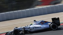 Felipe Massa, Williams, Circuit de Catalunya, testing, 2015