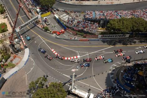 Start, Monaco, 2006
