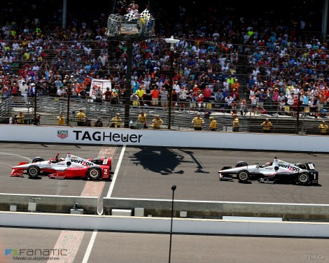 Juan Pablo Montoya, Will Power, Indianapolis 500, 2015