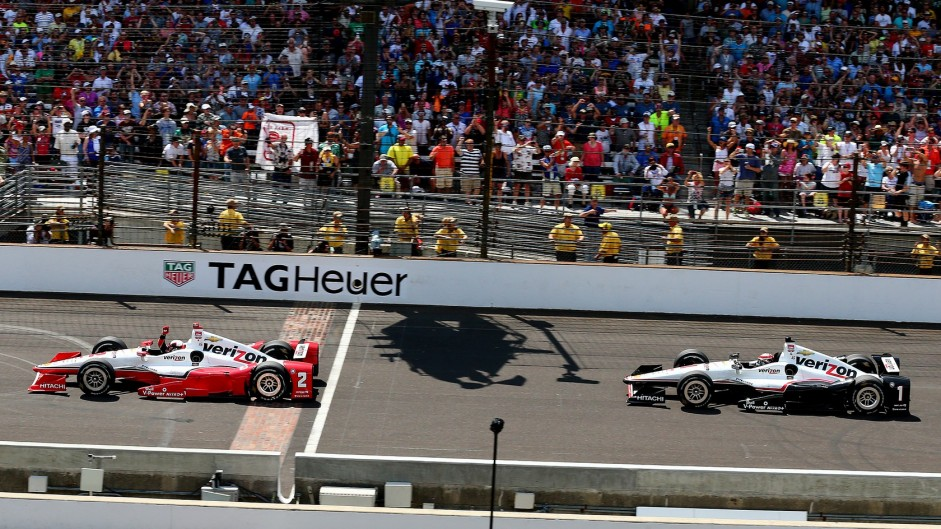 Late pass decides thrilling Indianapolis 500