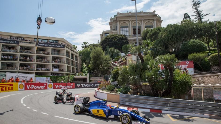 Felipe Nasr, Sauber, Monte-Carlo, 2015