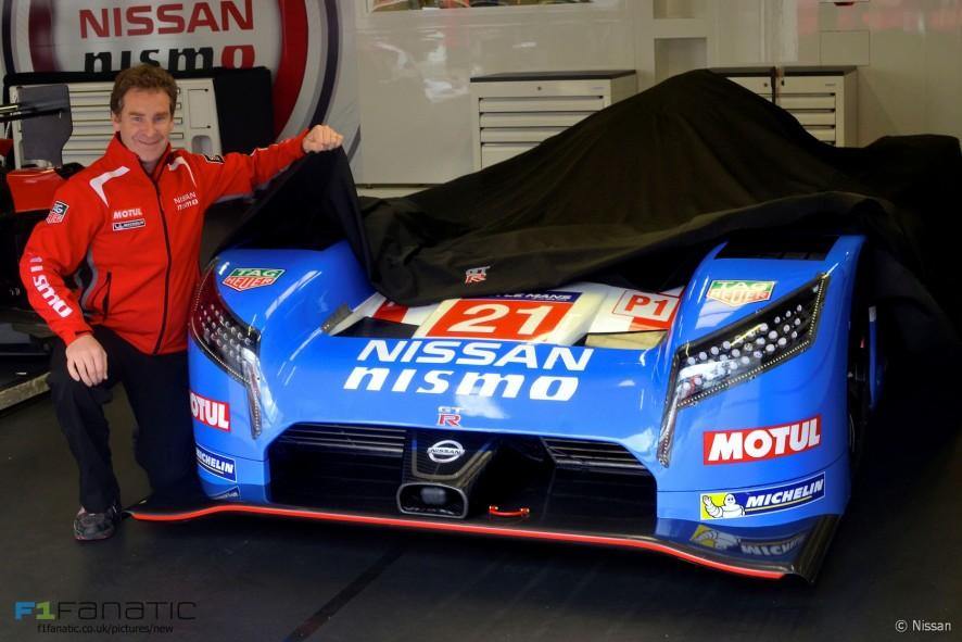 Nissan GT-r LM NISMO R90CK colour scheme