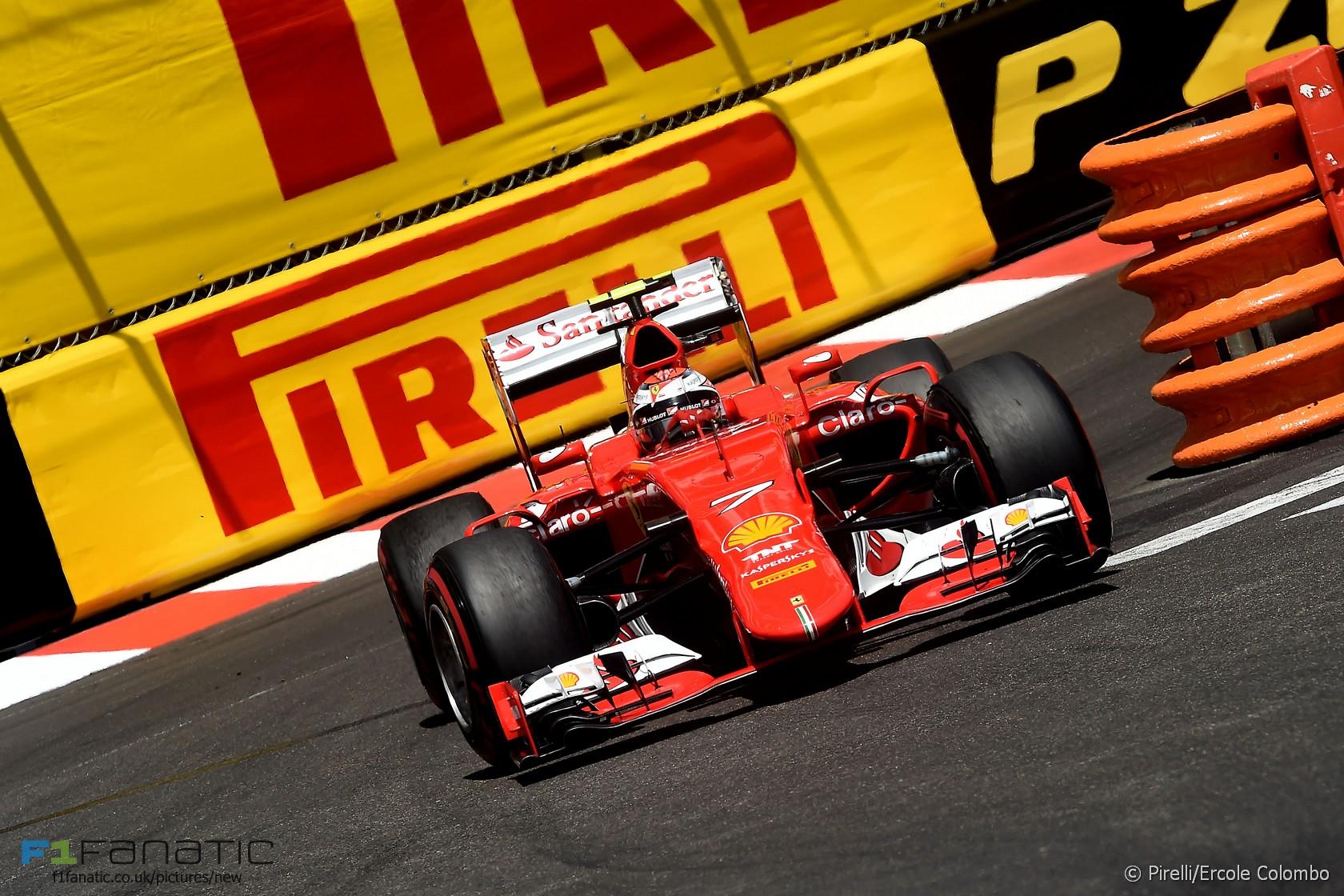 Kimi Raikkonen, Ferrari, Monte-Carlo, 2015