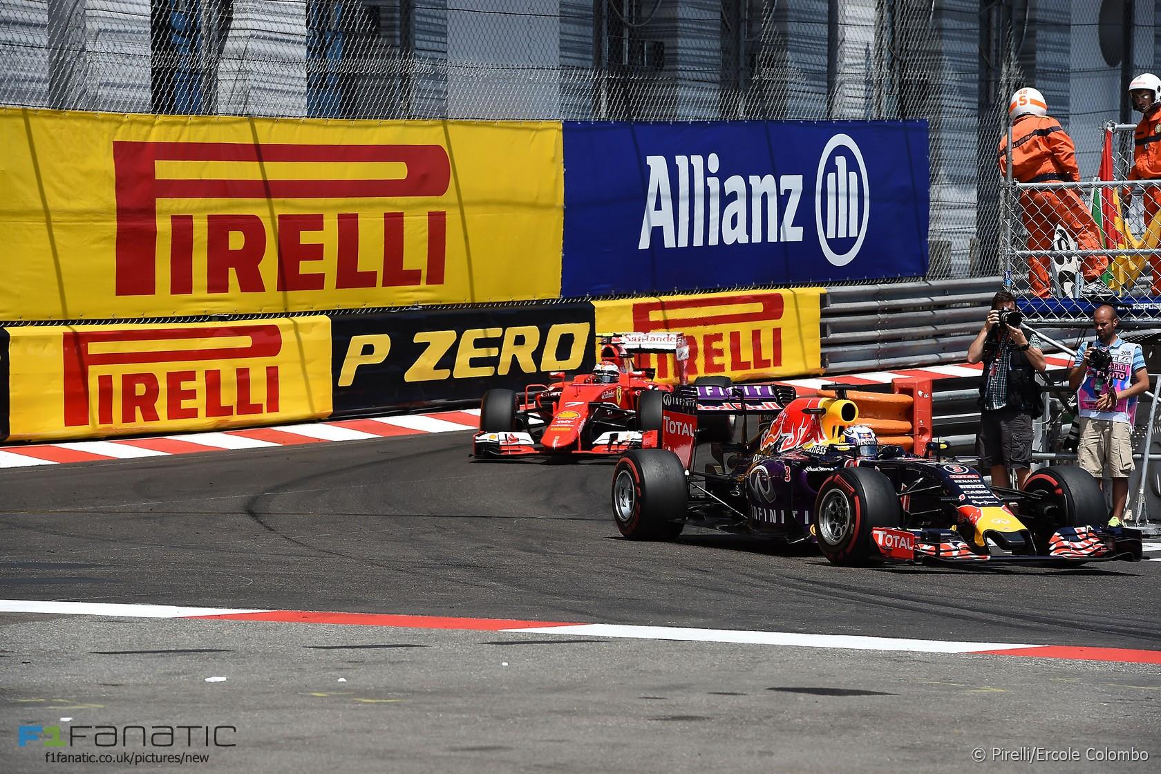 Daniel Ricciardo, Red Bull, Monte-Carlo, 2015
