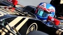 Jolyon Palmer, Lotus, Circuit de Catalunya testing, 2015