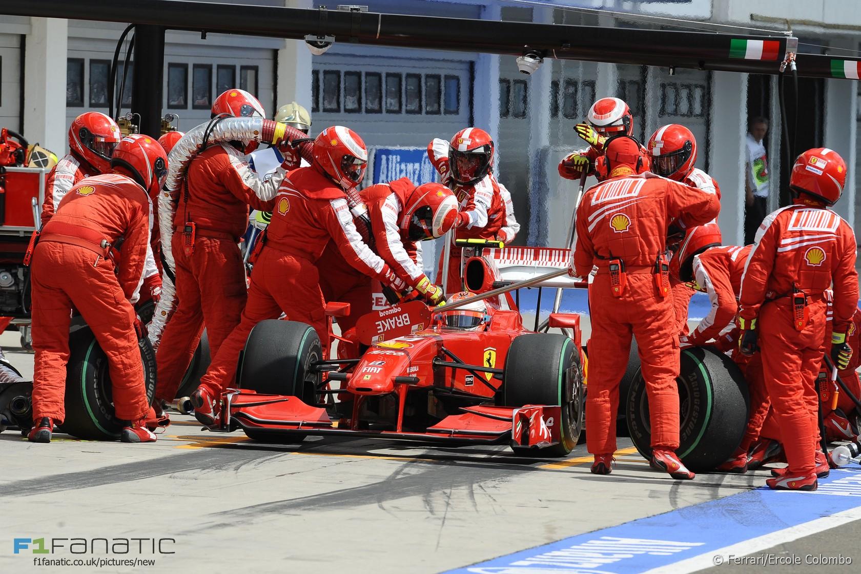 Kimi Raikkonen, Ferrari, Hungaroring, 2009