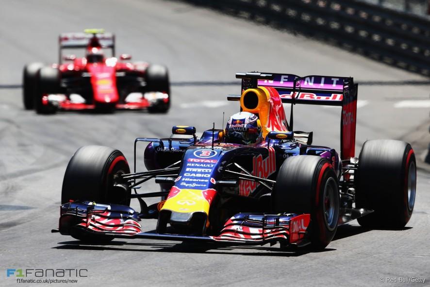 Daniel Ricciardo  Red Bull  Monte