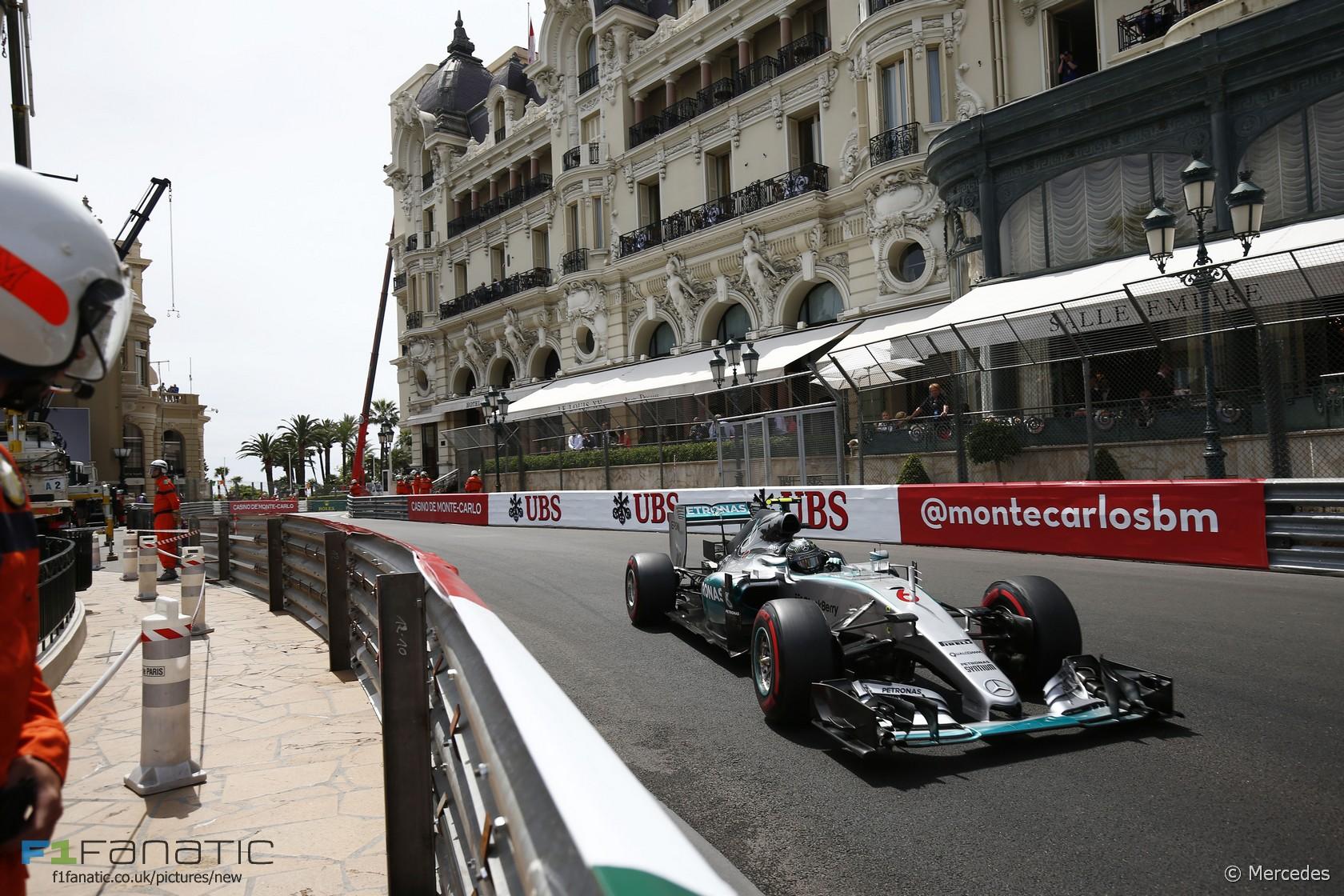 Nico Rosberg, Mercedes, Monte-Carlo, 2015