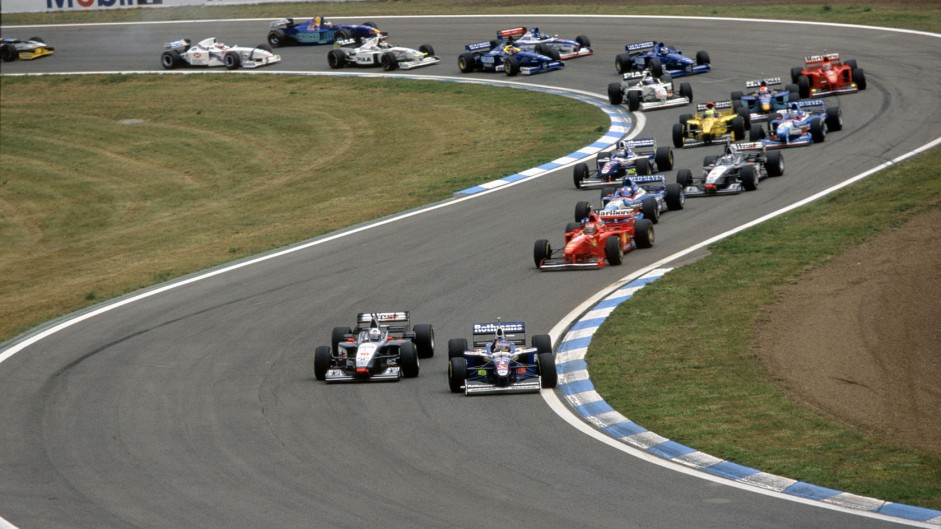 Villeneuve's binary season goes on as Panis charges to second
