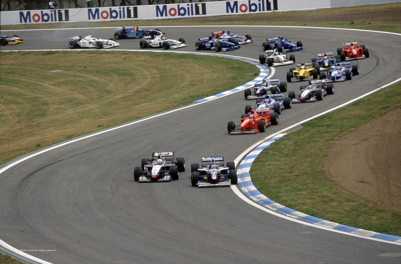 Start, Circuit de Catalunya, Barcelona, 1997
