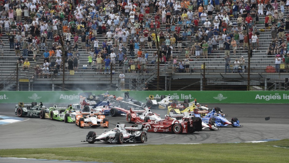 First-lap carnage at Indianapolis and Monaco