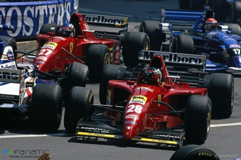 Start, Monte-Carlo, Monaco Grand Prix, 1995
