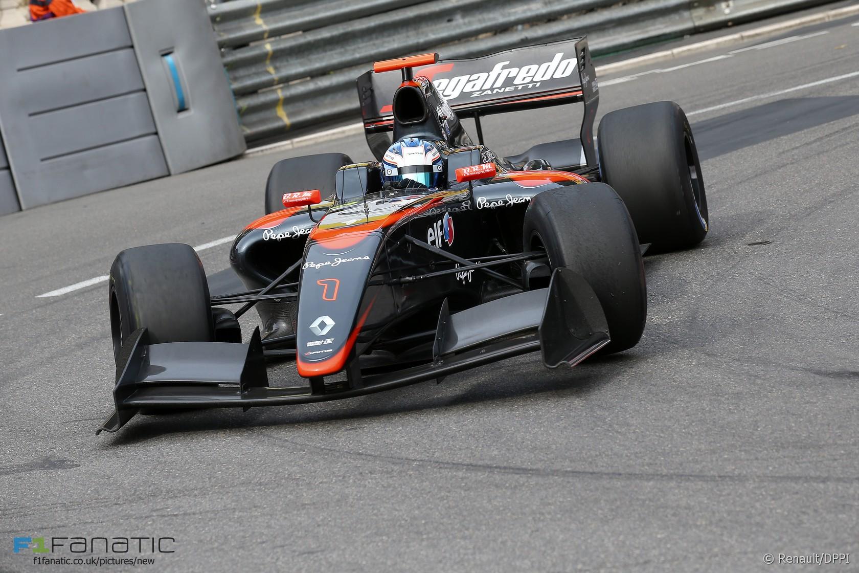Nyck de Vries, DAMS, Formula Renault 3.5, Monte-Carlo, Monaco, 2015