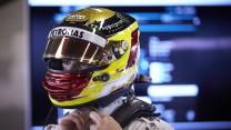 Pascal Wehrlein, Mercedes, Circuit de Catalunya testing, 2015