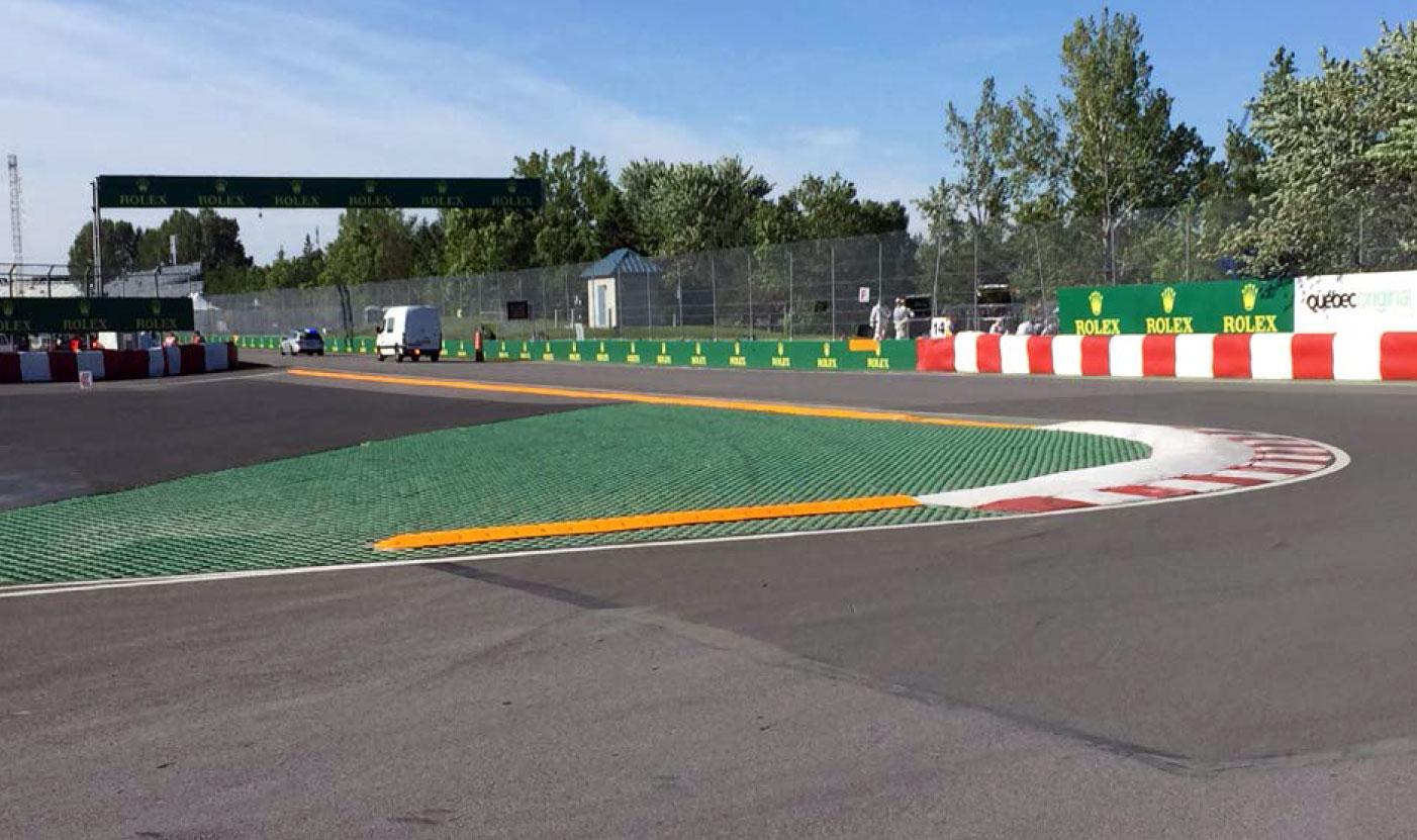 Turn 13/14 run-off, Circuit Gilles Villeneuve
