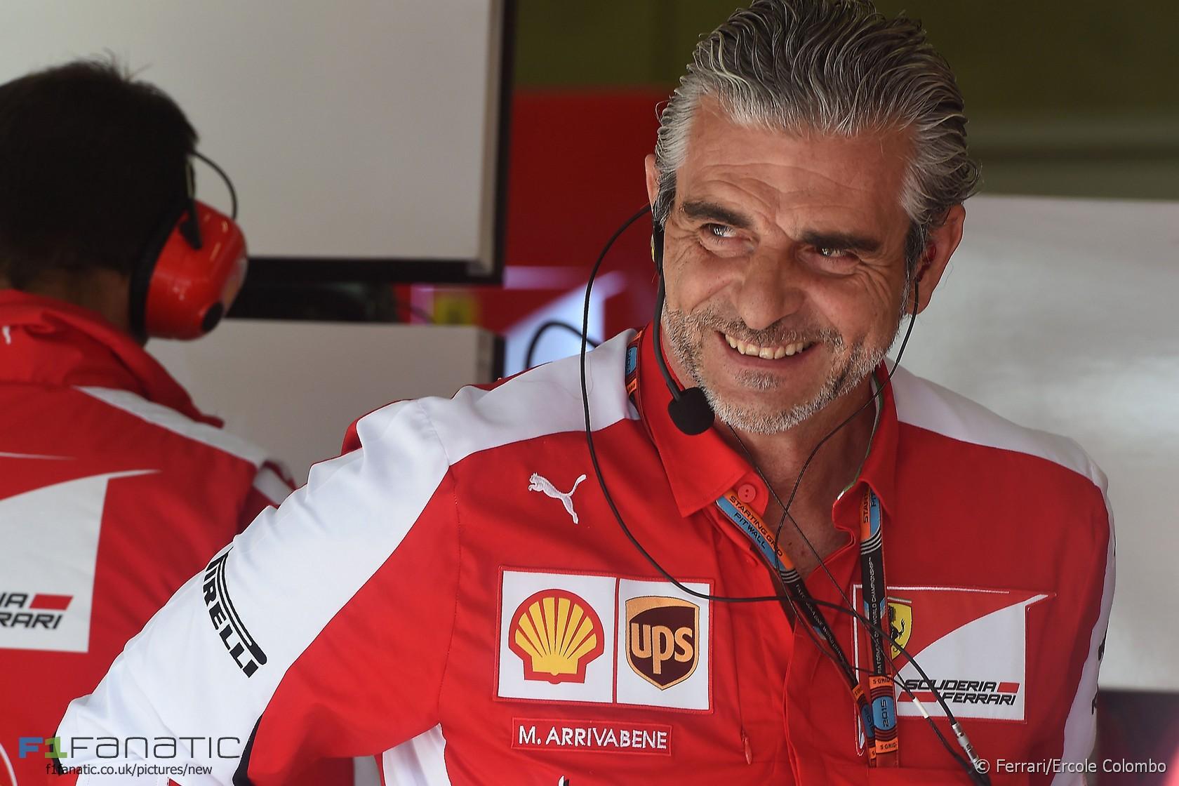 Maurizio Arrivabene, Ferrari, Red Bull Ring, 2015 · RaceFans
