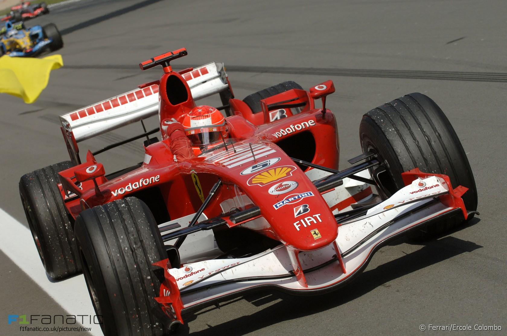 Michael Schumacher, Ferrari, Nurburgring, 2015