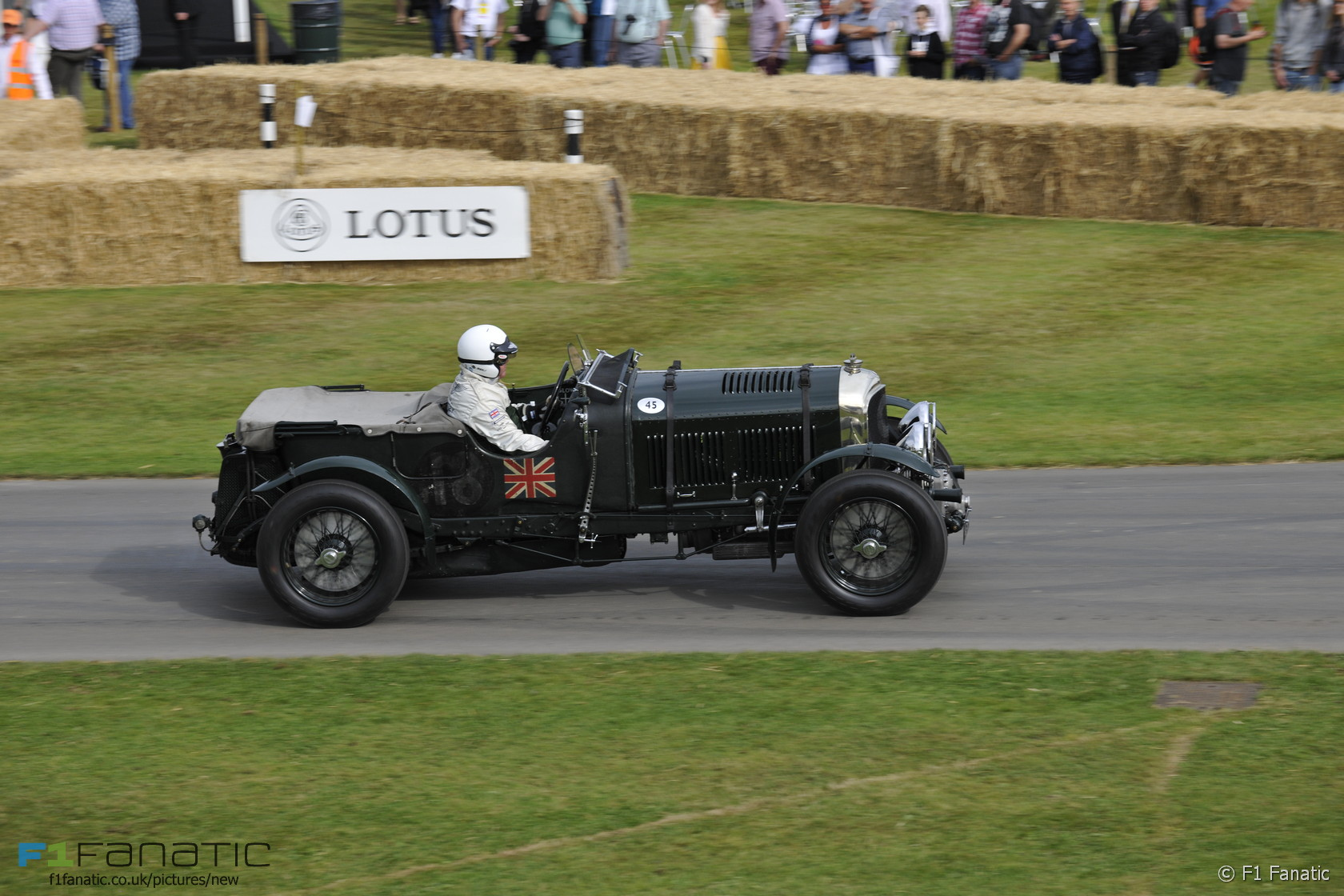 Bentley 4-5 litre supercharged, Goodwood Festival of Speed, 2015