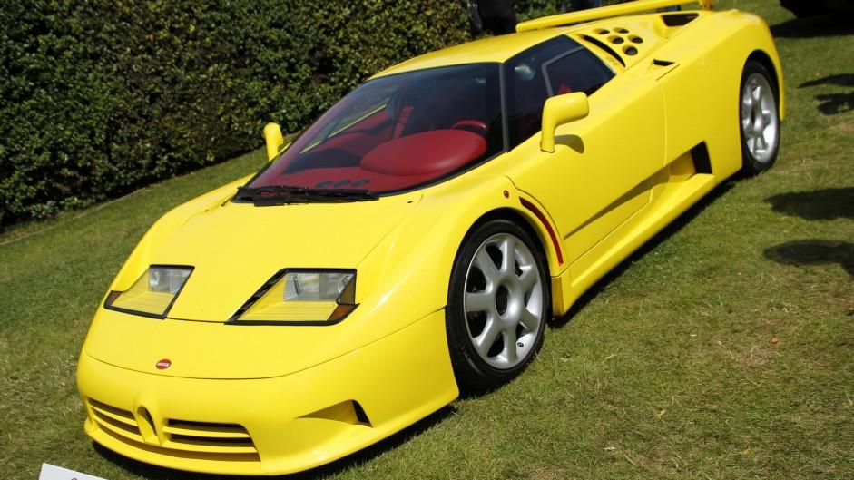 Bugatti EB110, Goodwood Festival of Speed, 2015