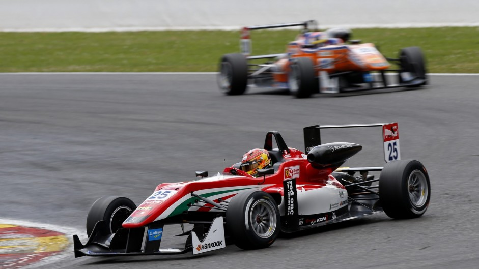 Ferrari junior gets race ban in F3 clampdown