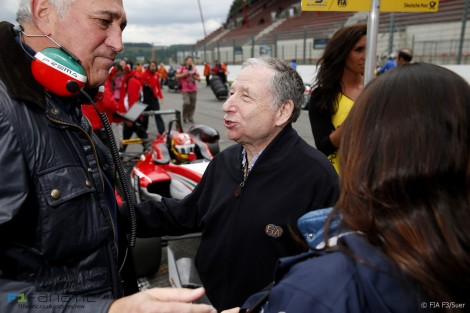 Lawrence Stroll, Jean Todt, Formula Three, 2015