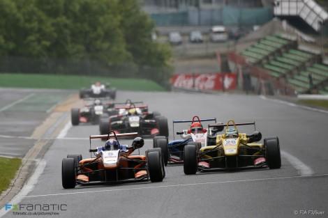 Santino Ferrucci, Pietro Fittipaldi, European Formula Three, Spa-Francorchamps, 2015