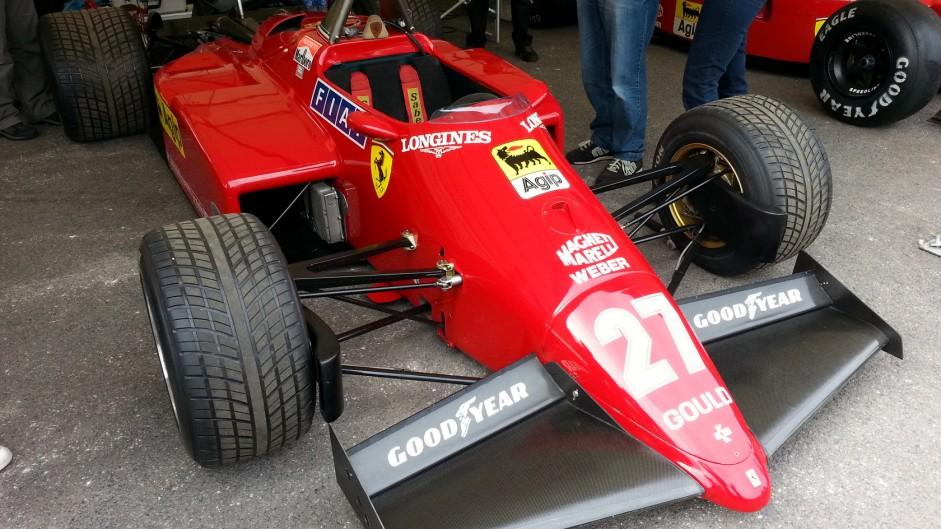 Ferrari 126 C4-M2, Goodwood Festival of Speed, 2015
