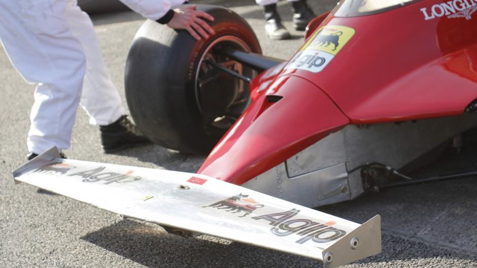 Ferrari 126CK. Goodwood Festival of Speed, 2015