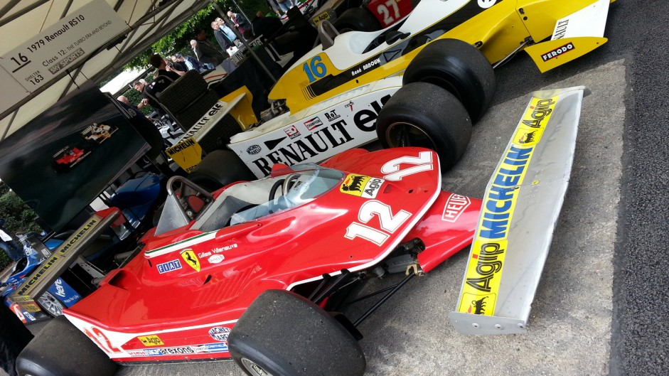 Goodwood Festival 2015: Cars from F1's first 30 years