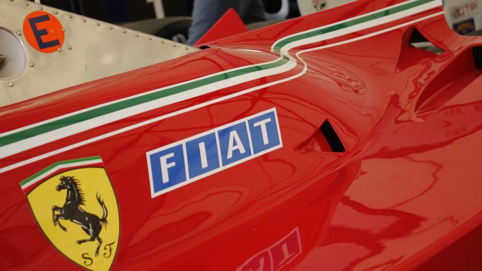 Ferrari 312T5. Goodwood Festival of Speed, 2015