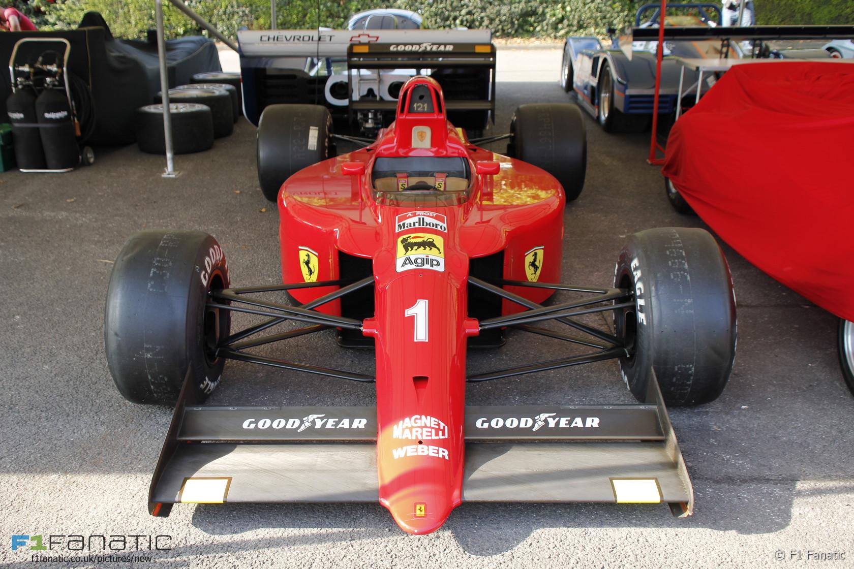 Ferrari 641, Goodwood Festival of Speed, 2015