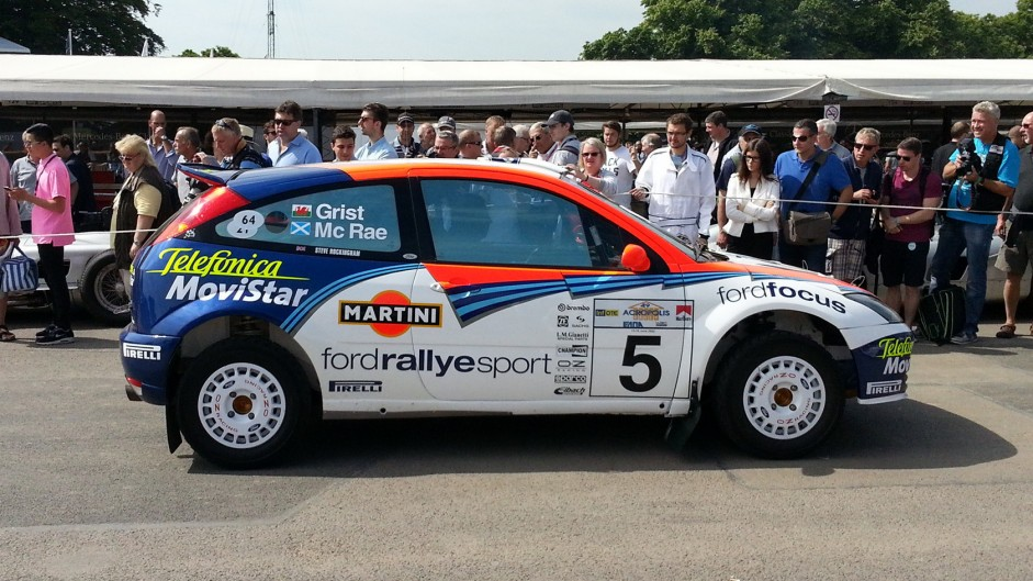 Ford Focus WRC, Goodwood Festival of Speed, 2015