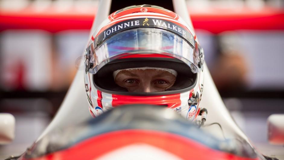 Jenson Button McLaren, Goodwood Festival of Speed, 2015