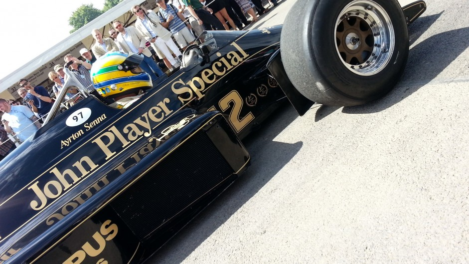 Lotus 97T. Goodwood Festival of Speed, 2015