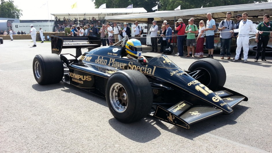 Goodwood Festival 2015: Eighties F1 cars