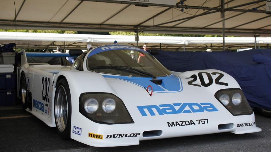 Mazda 757, Goodwood Festival of Speed, 2015