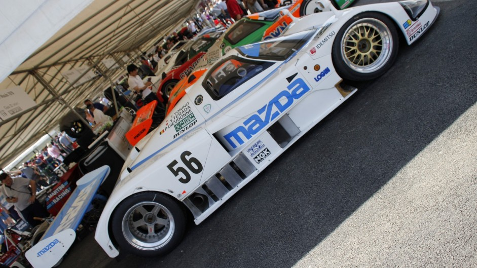 Mazda 787, Goodwood Festival of Speed, 2015