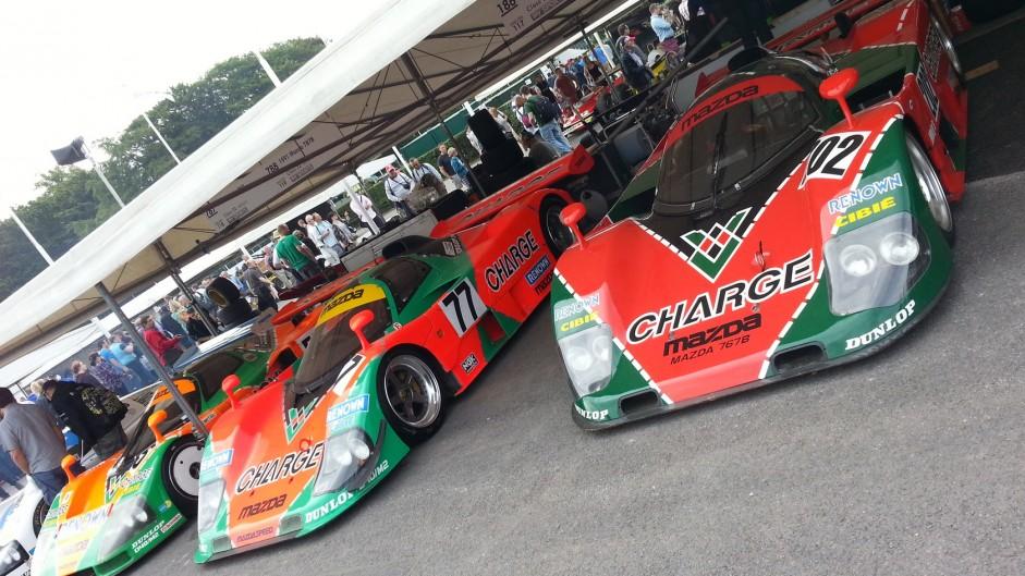 Mazda 787s, Goodwood Festival of Speed, 2015