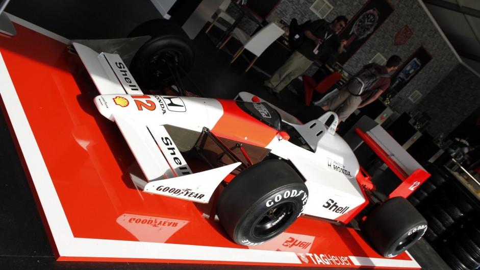 McLaren MP4-4, Goodwood Festival of Speed, 2015