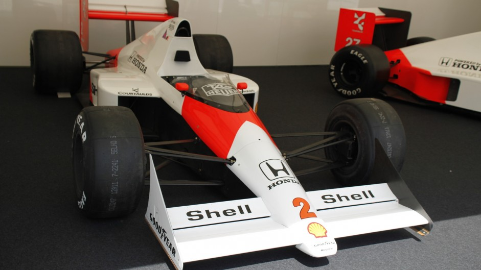 McLaren MP4-5, Goodwood Festival of Speed, 2015