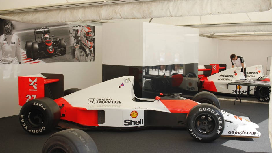 McLaren MP4-5B, Goodwood Festival of Speed, 2015