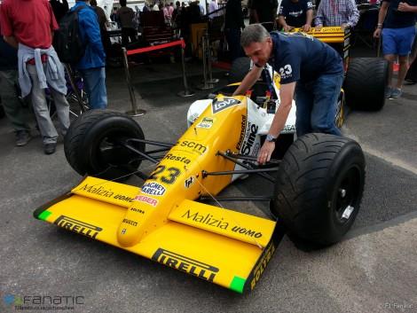 Minardi M189, Goodwood Festival of Speed, 2015