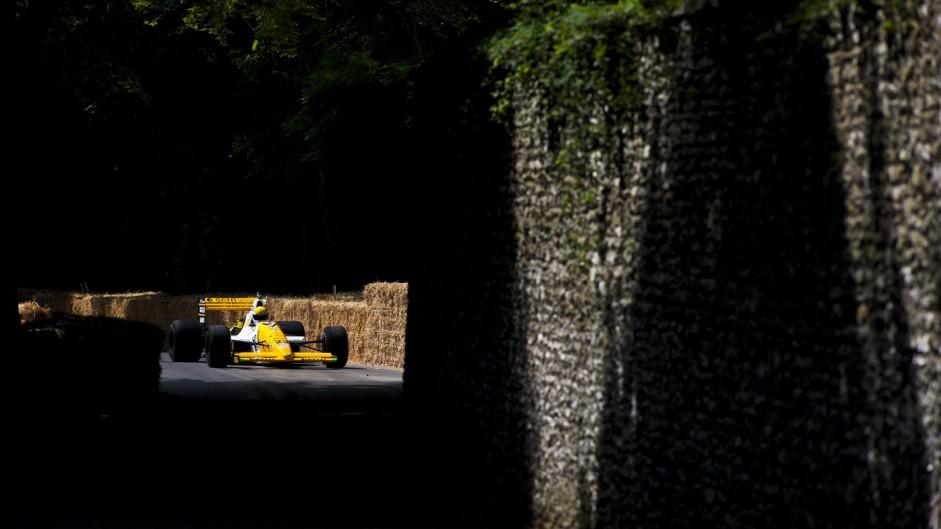 Minardi M189: Heroic minnows' only race-leading car
